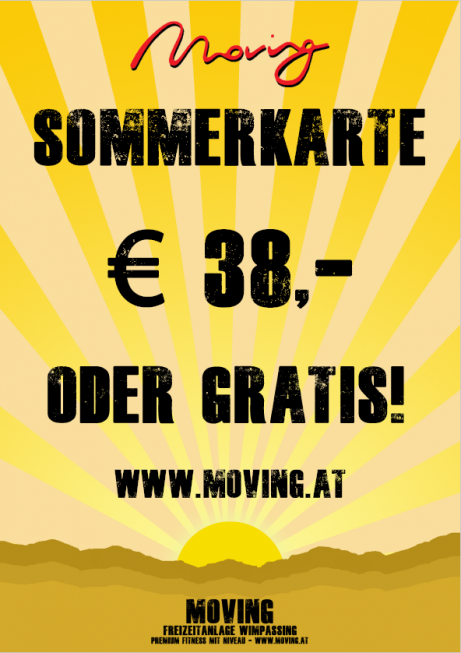 Moving Sommerkarte