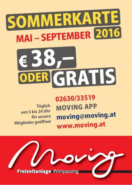 Sommerkarte Moving